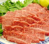 焼肉用 国産牛上バラ